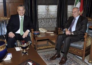 orbán Libanonban  (Orbán Viktor, Libanon, )