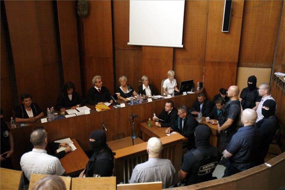 romagyilkosságok, ítélethirdetés (ítélethirdetés a romagyilkosságok perében)