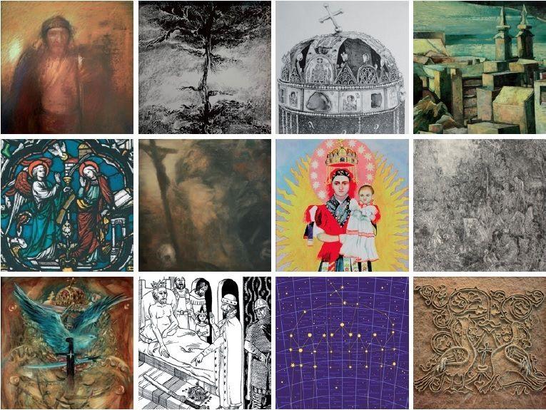 szent istván emlékév kiállítás (forrás galéria, vörösmarty színház, )