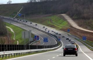 sztráda  M6-os (autópálya, sztráda, út, M6)