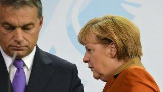 Orbán, Merkel (orbán viktor, merkel, )