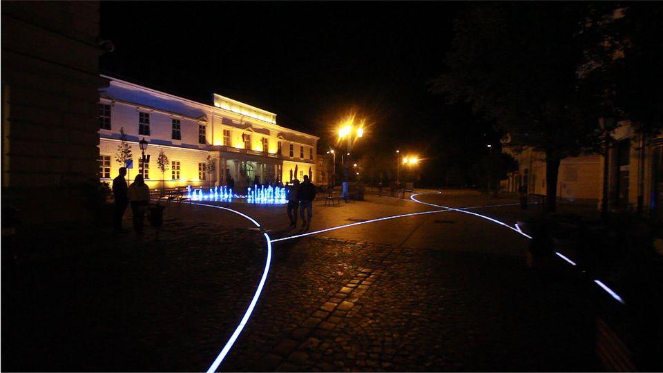 Székesfehérvár esti belvárosa (Székesfehérvár esti belvárosa)