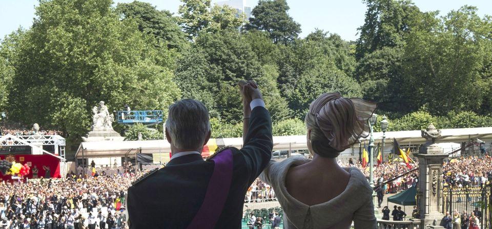 belga királyi pár (belgium, fülöp, )