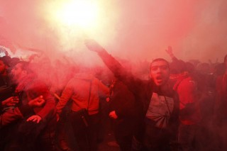 egyiptomi futballhuligánok pere (egyiptom, futballhuliganizmus, )