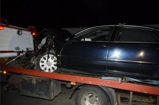hende összetört kocsija (hende balesete)