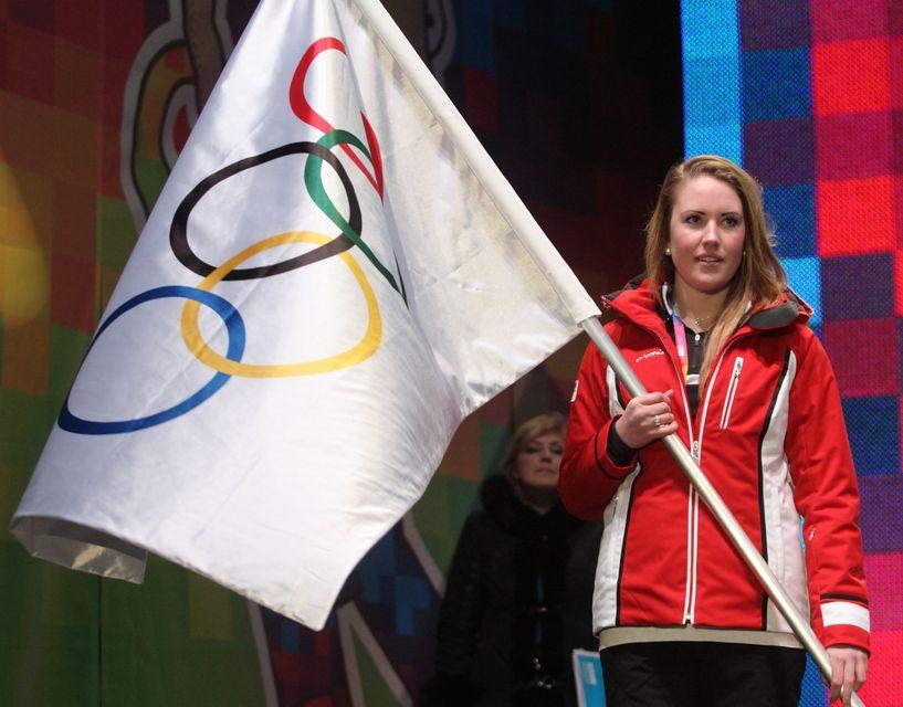 olimpiai zászló (olimpiai zászló, )