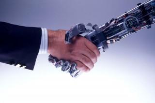 robot (robot, kézfogás)