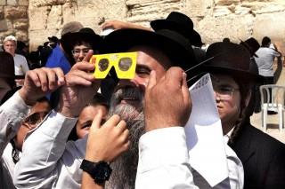 zsidó férfi (zsidó, napfogyatkozás, )