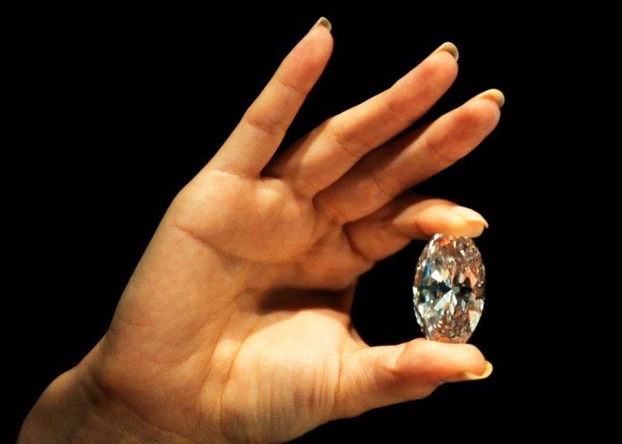 118 karátos fehér gyémánt (gyémánt, )