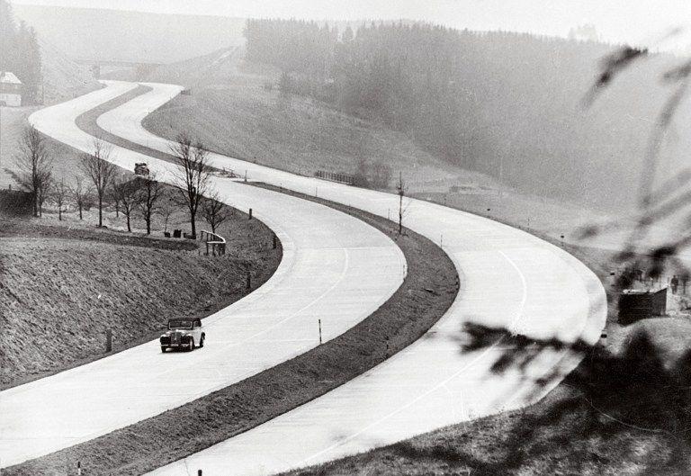 Autobahn (autobahn, autópálya, németország, )