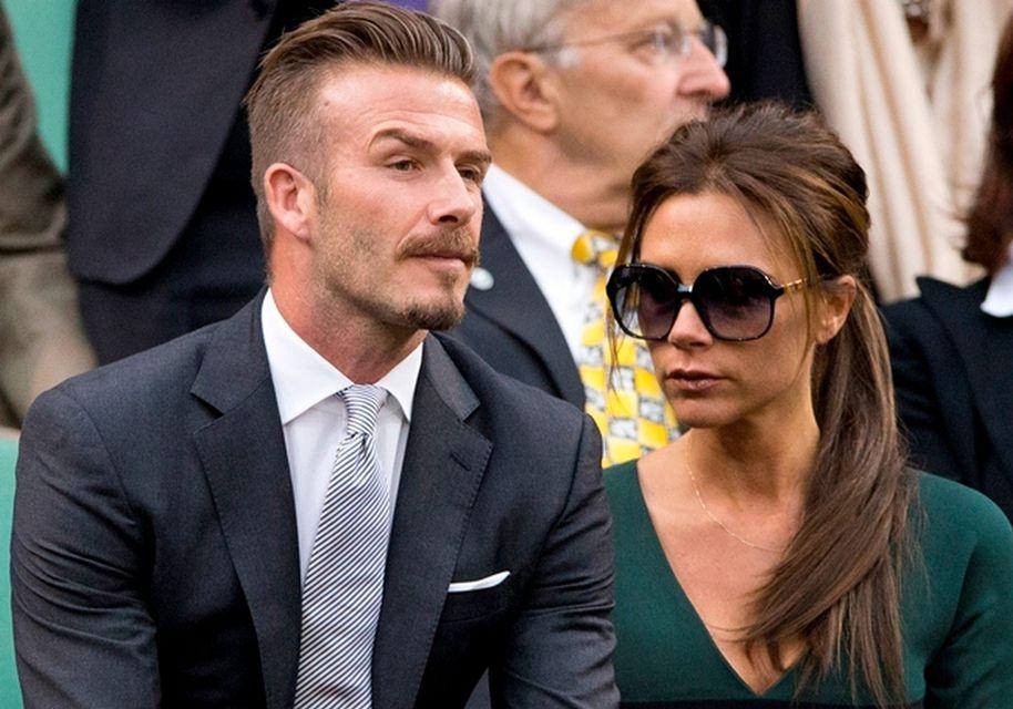 David Beckham & Victoria Beckham (david beckham, victoria beckham, )
