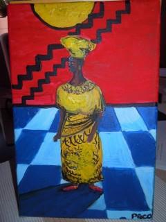 Fekete Pákó festménye (Fekete Pákó festménye)