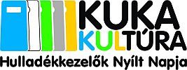 Kukakultúra logo (szemét, kuka, hulladékfeldolgozás, )