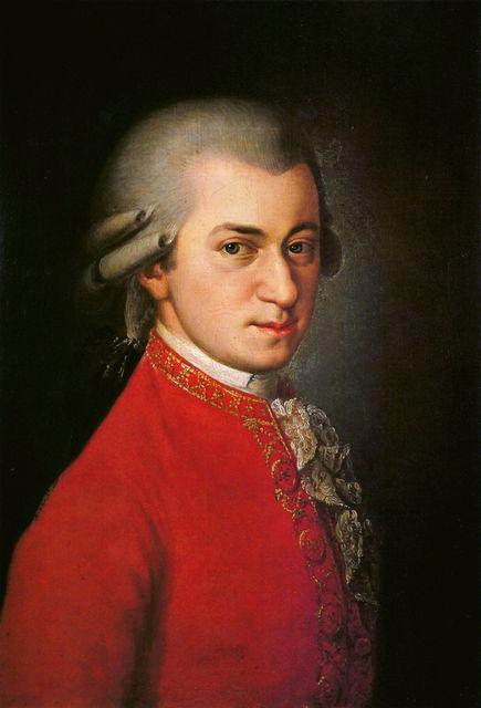 Mozart - Barbara Krafft posztumusz festménye (mozart, wolfgang amadeus mozart, )