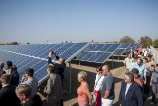 Önkormányzati tulajdonú naperőmű épült Monostorpályiban (napelem, )