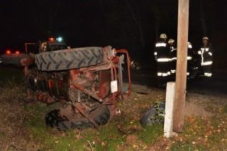 Traktoros baleset (traktor, baleset, )