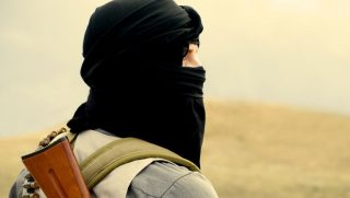 al-kaida harcos (al-kaida, muszlim, terrorista, )