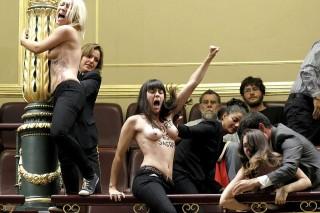 femen aktivista madrid (femen, )