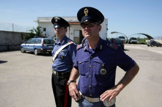 olasz rendőr (olasz rendőr)