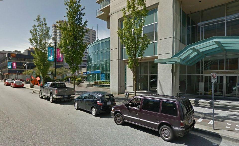 parkolás, New Westminster (parkolás, utca, kanada, )