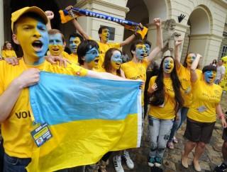 ukrajna (ukrajna, ukrán szurkolók, szurkolók)