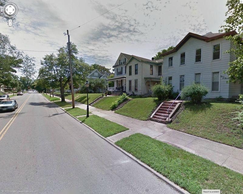Dayton Street, Hamilton, USA (utca, street view, usa)