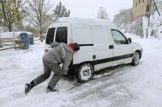 Havazás Franciaországban (havazás, )