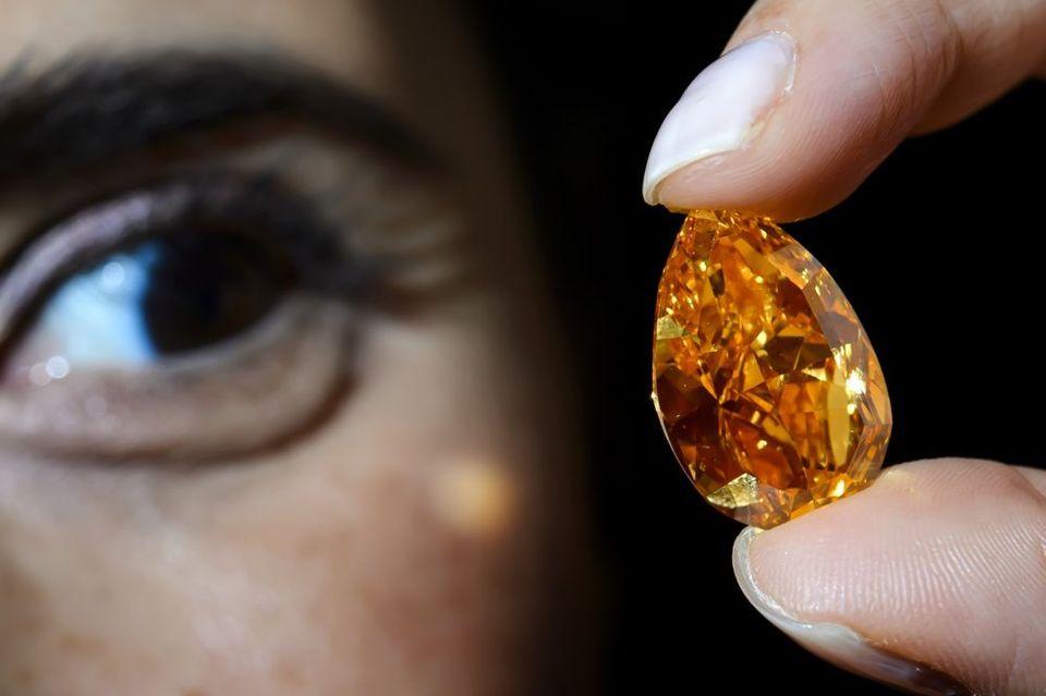 Narancsszínű gyémánt - The Orange (gyémánt, )