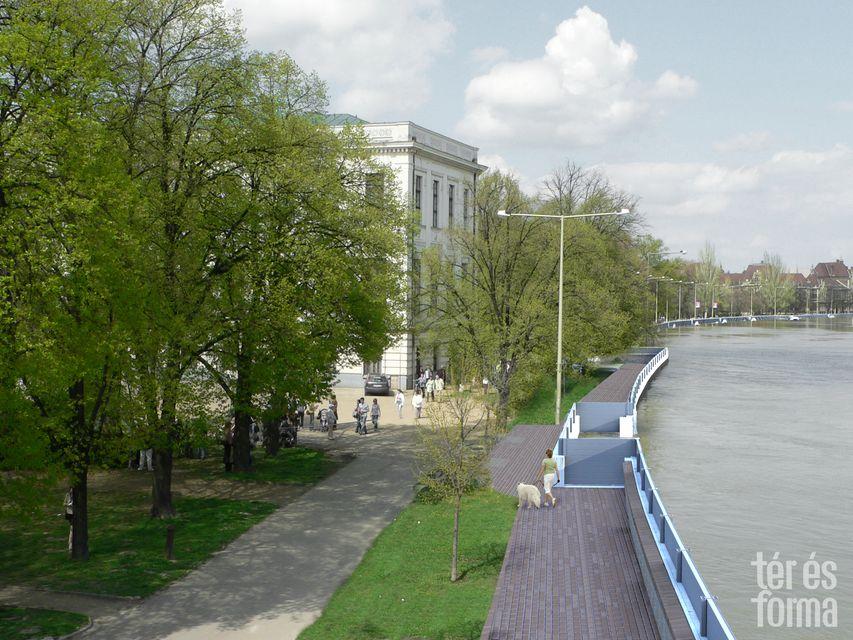 Szegedi mobil partfal (szeged, mobil partfal, tisza)