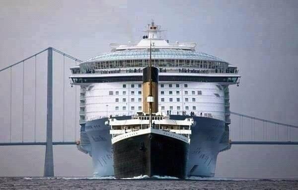 Ttianic Allure (titanic, allure of the seas, )