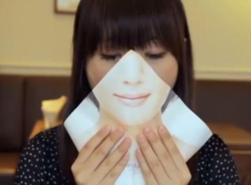 felszabadító csomagolás (japán, hamburger, reklám, )