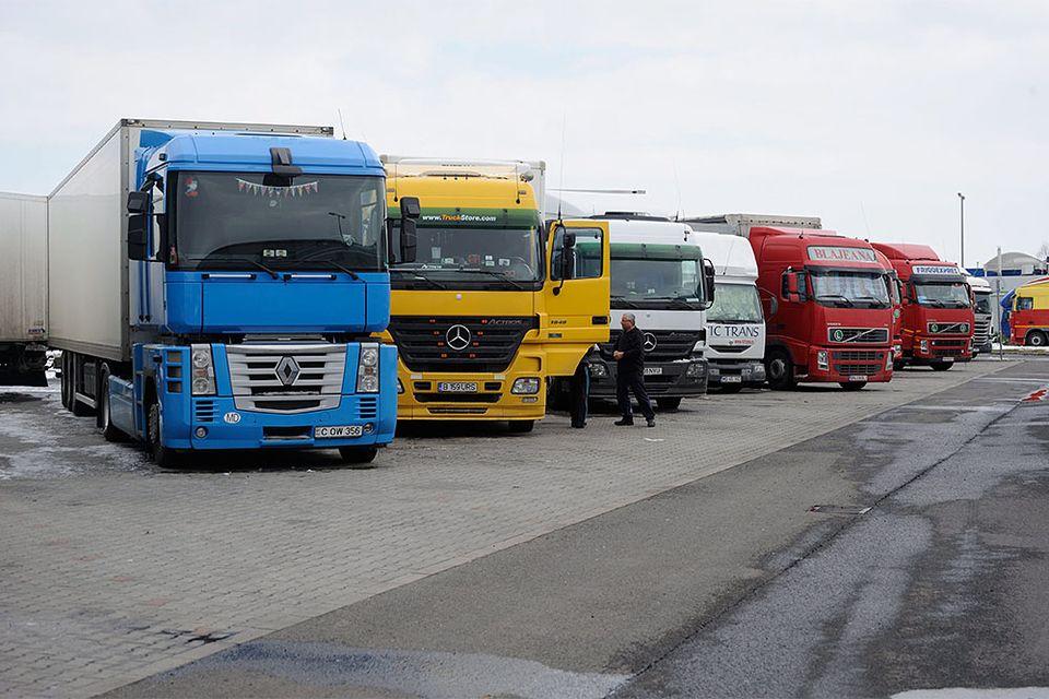 kamion (kamion, pihenő, )