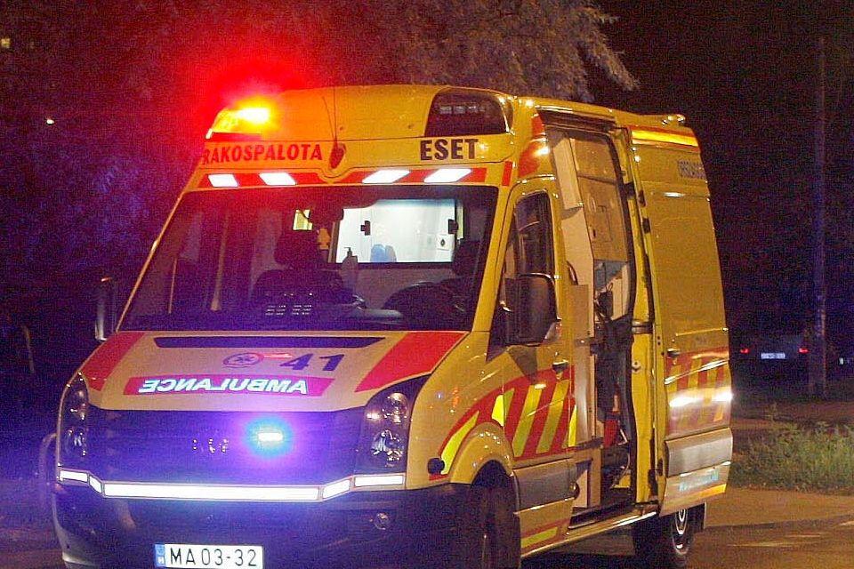 mentőautó, baleset (mentőautó)