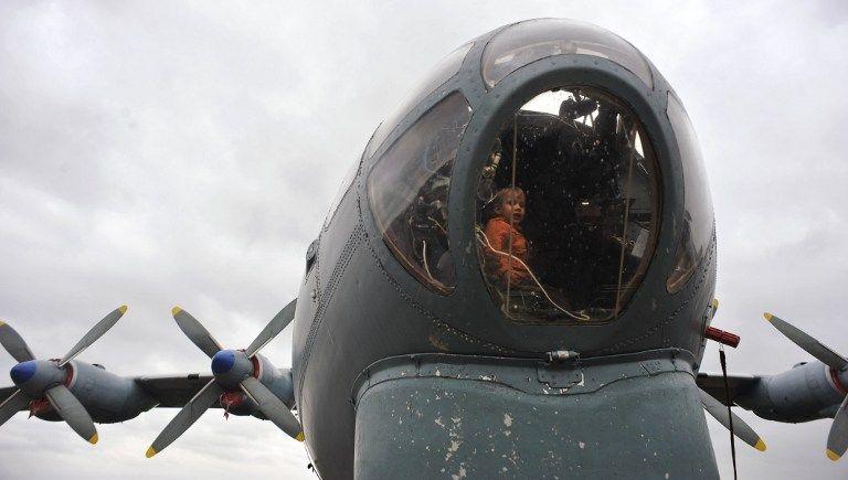 AN12 teherszállító (an-12, teherszállító repülőgép, )