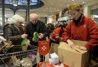adni öröm (Magyar Máltai Szeretetszolgálat élelmiszergyűjtő akciója)