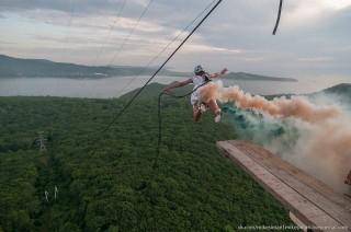 Elena Kazachenko (kaszkadőr, bungee jumping, )