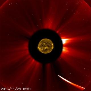 ISON üstökös (üstökös, NAP)