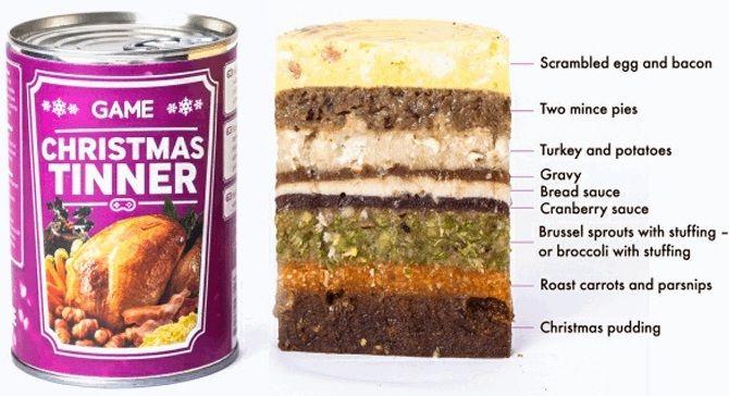 Karácsonyi konzerv (étel, karácsony, konzerv, )
