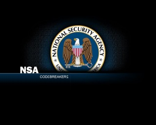 NSA logó (Nemzetbiztonsági Ügynökség, NSA, logó, National Security Agency, )