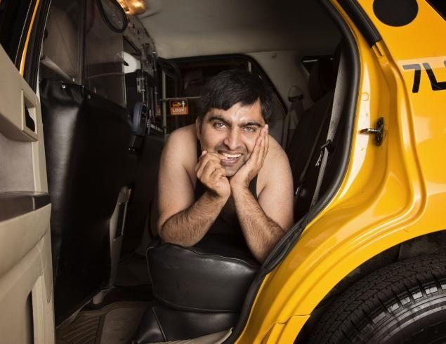 NY taxis naptár 3 (taxi, naptár, meztelen)