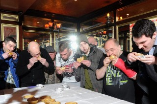 Pite evő világbajnokság (evőverseny, pite, anglia, )