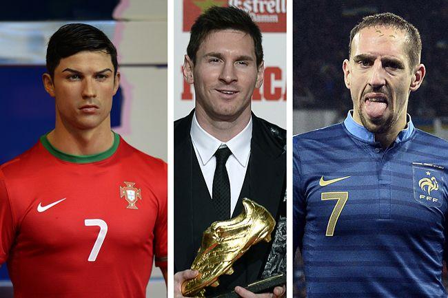 Ronaldo, Messi, Ribéry (ronaldo, messi, ribéry)