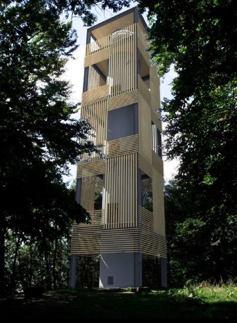 csóványosi kilátó látványterv (csóványos, kilátó, átépítés, ipoly erdő zrt, )
