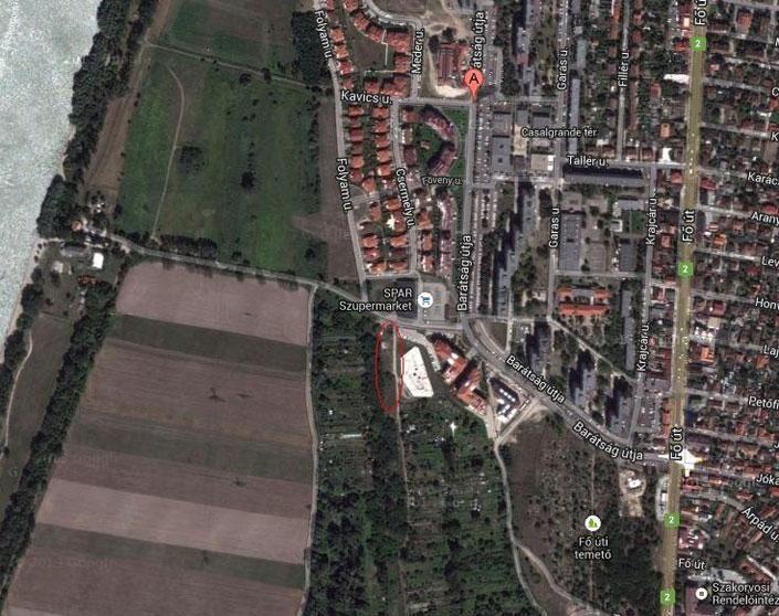 dunakeszi térkép (lövöldözés, belterület, dunakeszi, )
