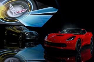 general motors, detroit, auto show (Chevrolet Corvette Stingray)