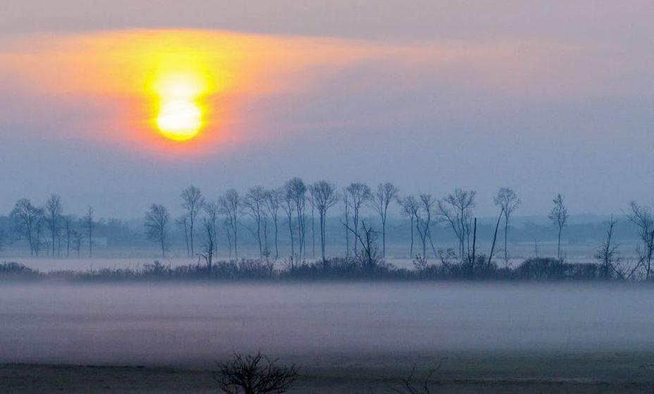 ködös idő balatonlellénél (köd, ködös idő, balatonlelle, )