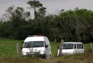 mexikó tömegsír (mexikó, rendőrség, tömegsír, )