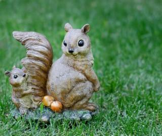 mókus figura (mókus, dísztárgy, )