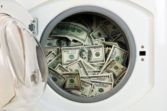 pénzmosás (pénzmosás)