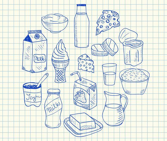 tejes étkek (tejtermékek)